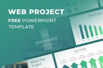 Web Project Proposal Free PowerPoint Template