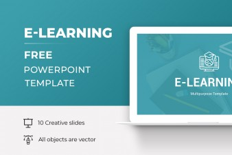 E-Learning Free PowerPoint Presentation Template