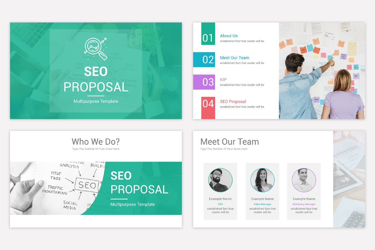 Best Seo Proposal Free Powerpoint Ppt Template Nulivo Market