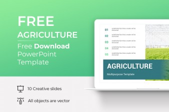 Free Agriculture PowerPoint Template