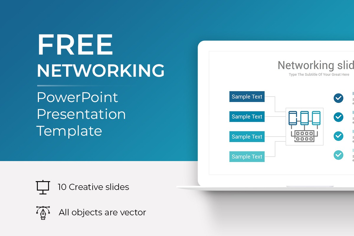 Free Networking PowerPoint Template
