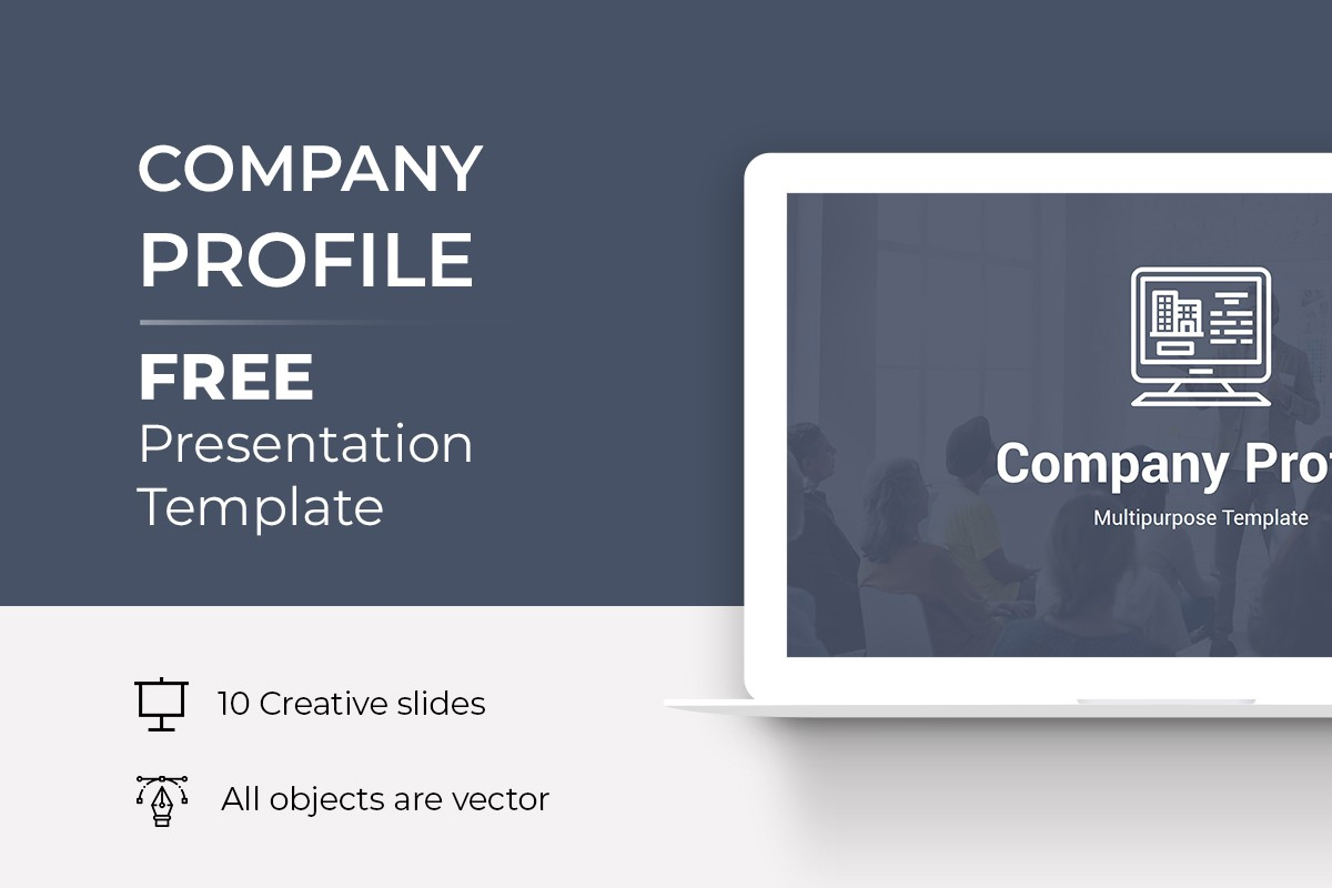 Company Profile Free PowerPoint Template