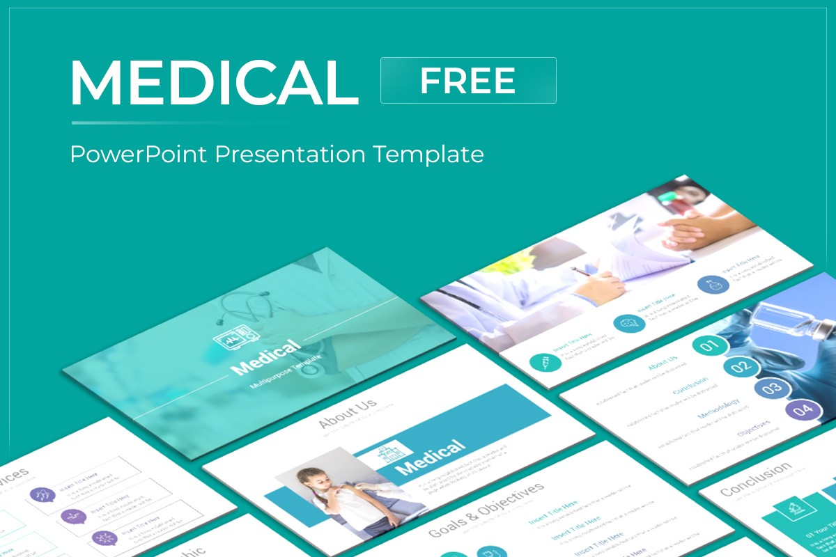 Medical Free Powerpoint Template Nulivo Market
