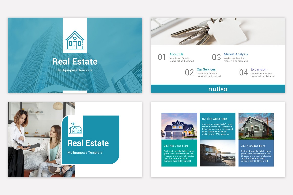Real Estate Powerpoint Template Free Download Nulivo Market