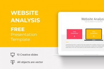 Website Analysis Free PowerPoint Templates