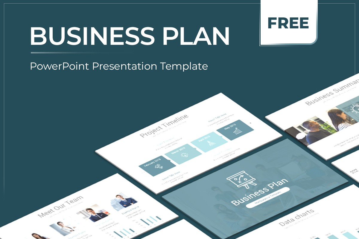 Best Business Plan Free Powerpoint Template Nulivo Market