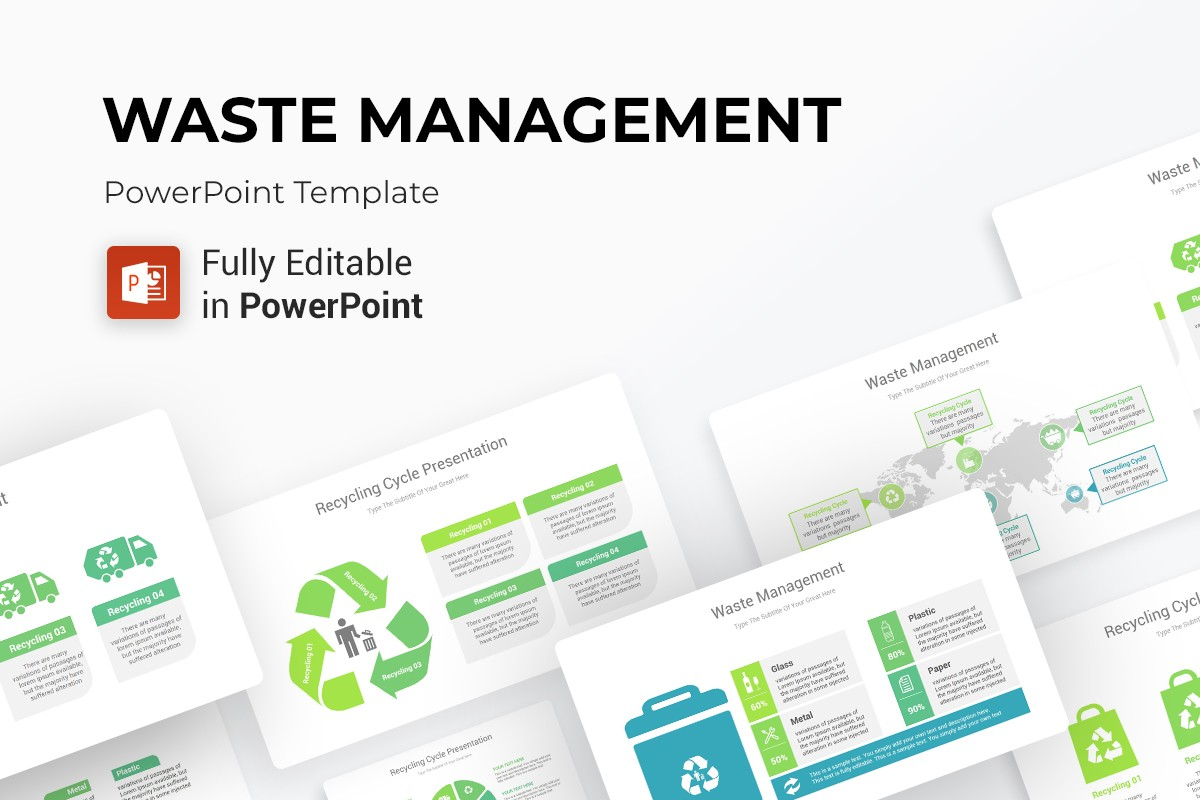 Waste Management Powerpoint Ppt Template Nulivo Market
