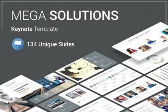 Mega Solutions Keynote Template