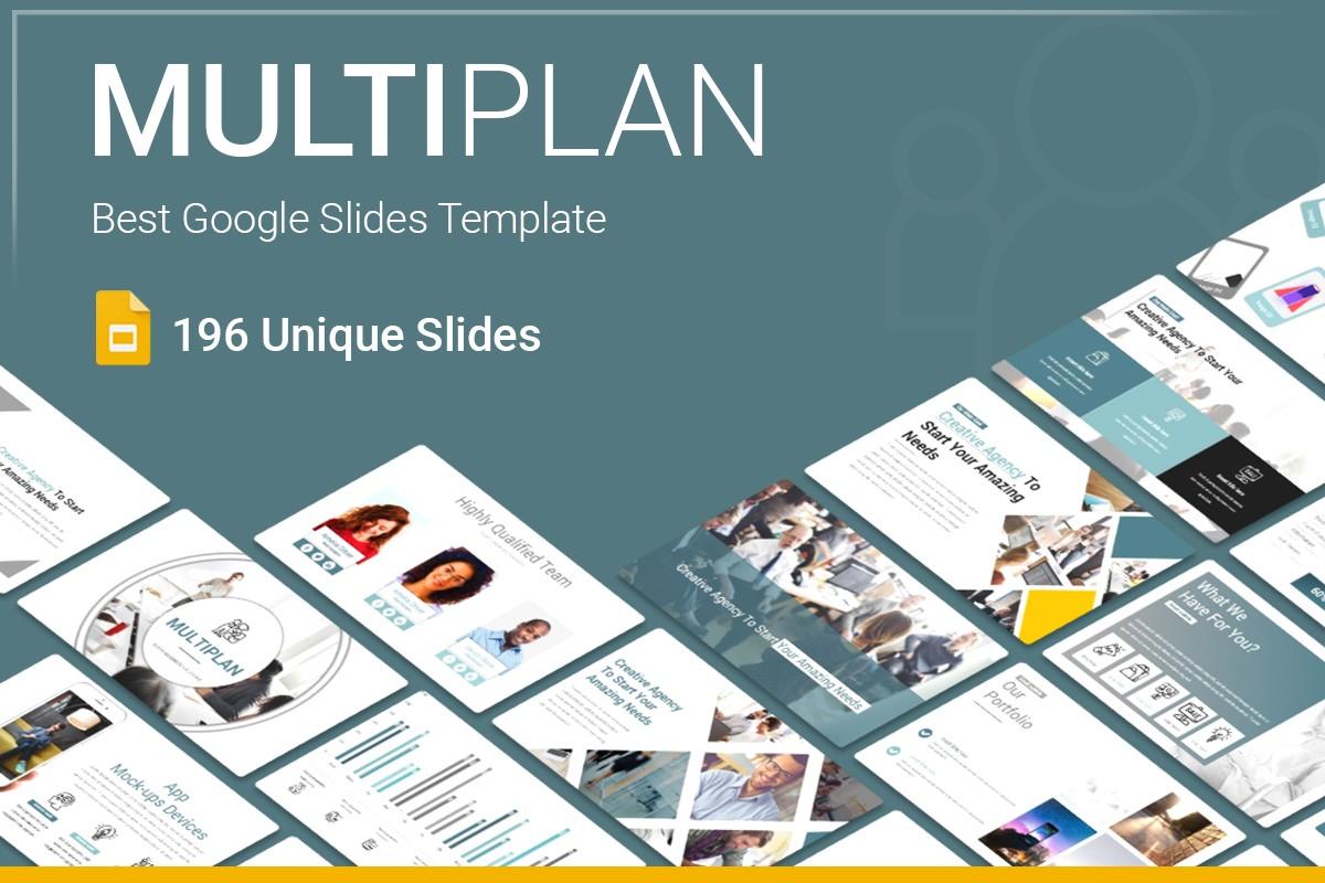 MultiPlan Google Slides Presentation Template