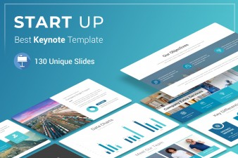 Startup Keynote Presentation Template