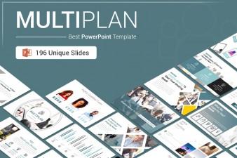 MultiPlan PowerPoint Presentation Template