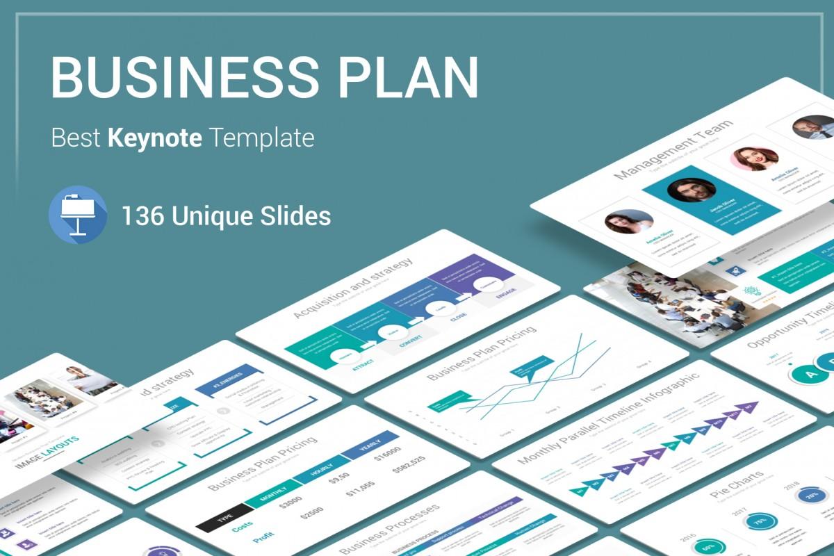 Best Business Plan Keynote Template
