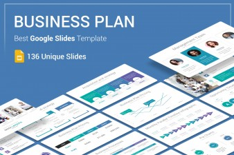 Business Plan Google Slides Theme For Presentation