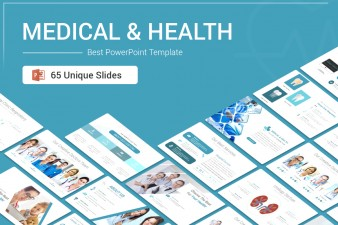 Medical and Health PowerPoint Template For Presentation