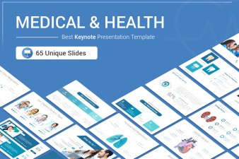 Medical and Health Keynote template for presentation