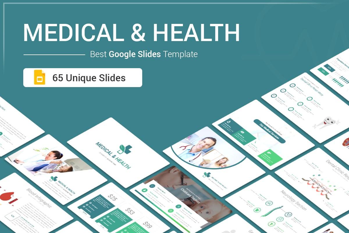 Medical and Health Google Slides template for presentation