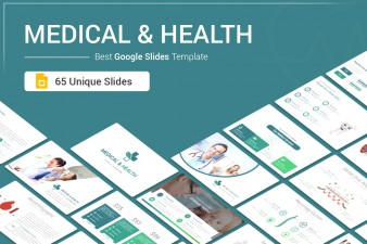 Medical and Health Google Slides template for presentation