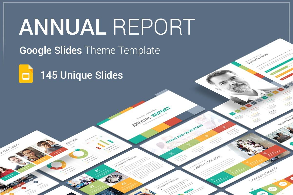Annual Report Google Slides Theme For Presentation