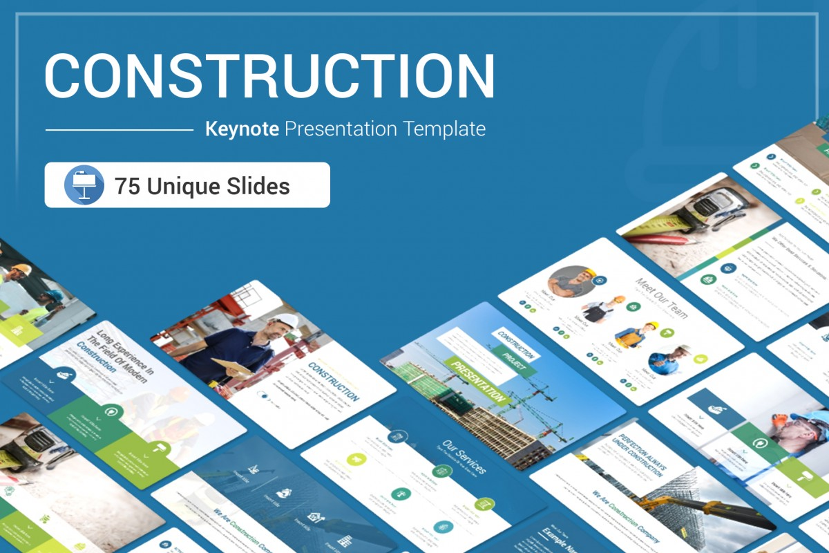 Construction Keynote Presentation Template