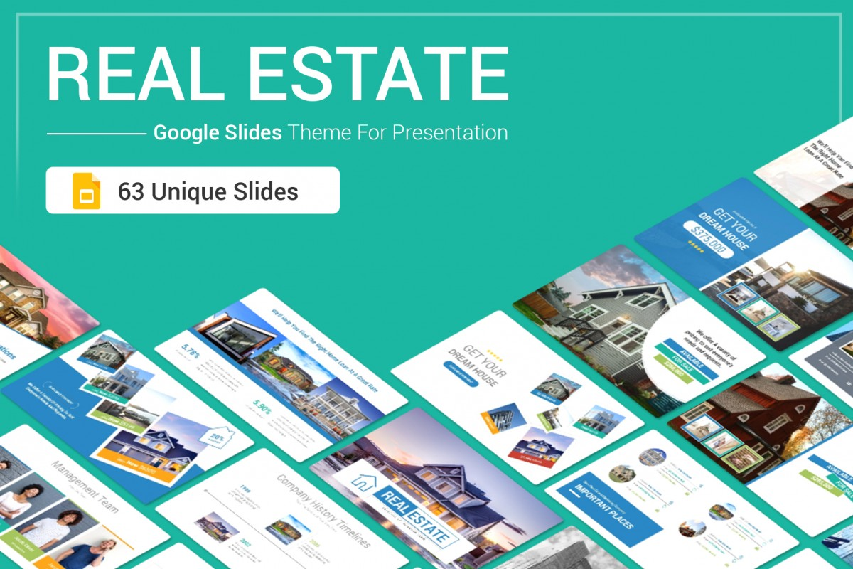 Real Estate Google Slides Theme For Presentation