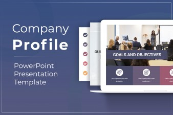 Company Profile PowerPoint Presentation Template