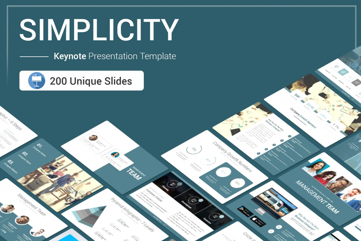 Simplicity Keynote Presentation Template