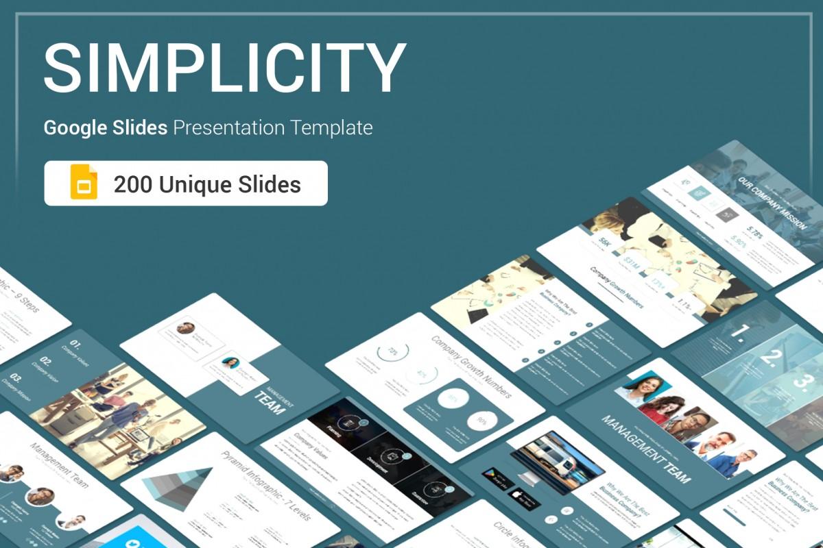 Simplicity Google Slides Presentation Template