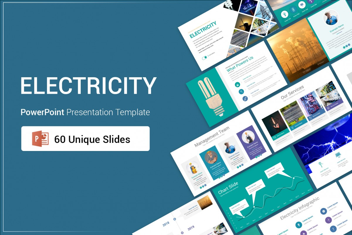 Electricity PowerPoint Presentation Template