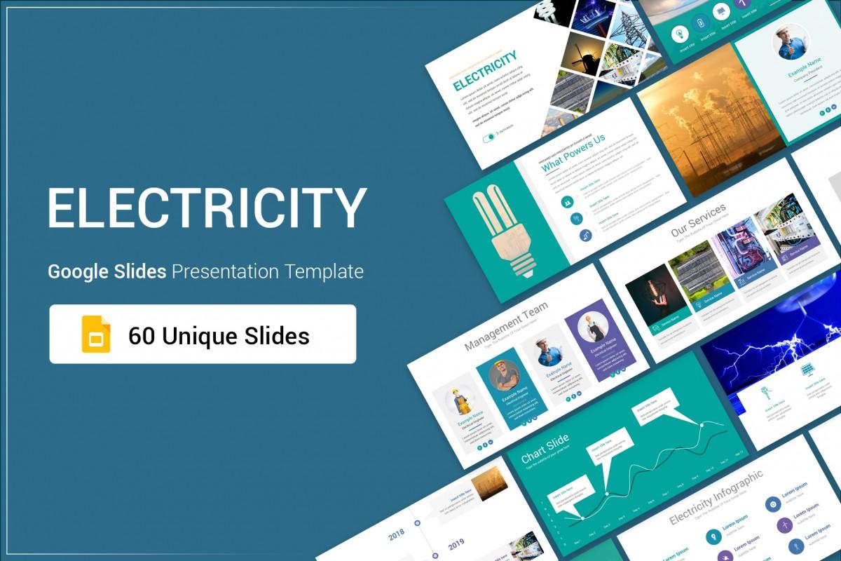 Electricity Google Slides Presentation Template