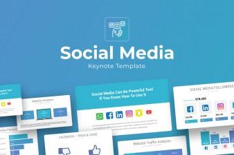 Social Media Keynote Presentation Template