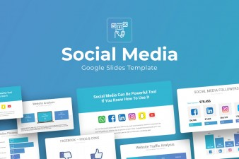 Social Media Google Slides Theme For Presentation