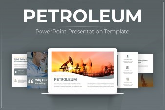 Petroleum PowerPoint Template For Presentation