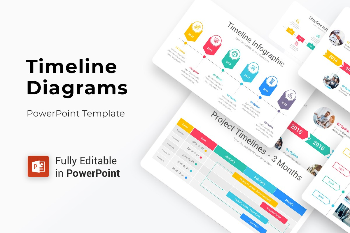 Timeline Infographics PowerPoint Presentation Template