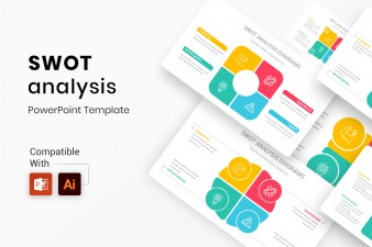 SWOT Diagrams PowerPoint Template