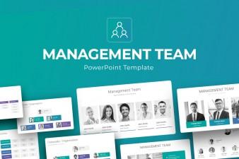 Management Team PowerPoint Presentation Template