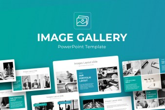 Image Gallery PowerPoint Template