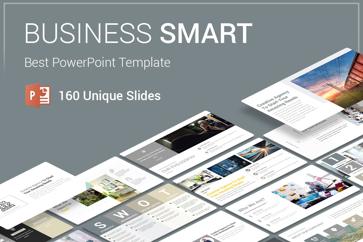 Business Smart PowerPoint Template
