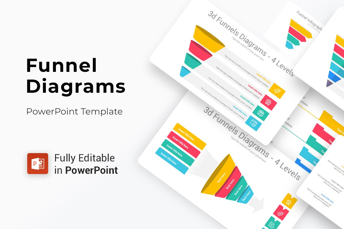Funnels Diagrams PowerPoint Template