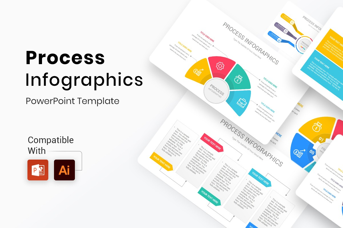 Process Infographics PowerPoint Template
