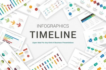 Modern Timeline PowerPoint Template
