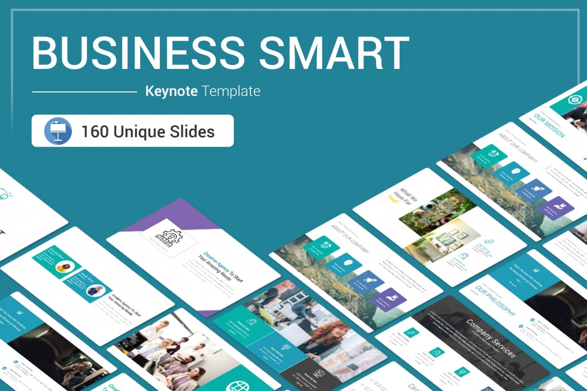 Business Smart keynote template