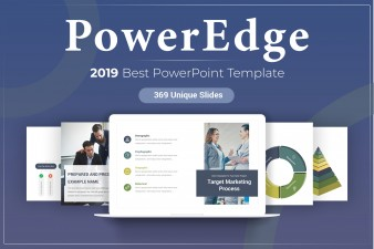 Power Edge PowerPoint Template