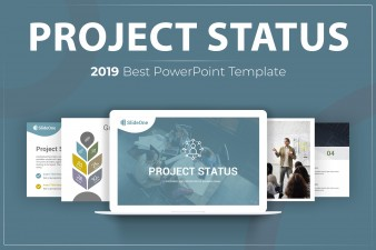 Stunning Project Status PowerPoint Template