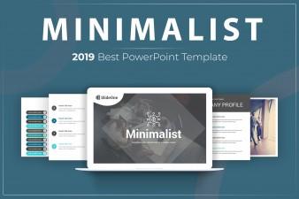 Premium Minimalist powerpoint template