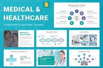 Medical And Healthcare Google Slides Presentation Template