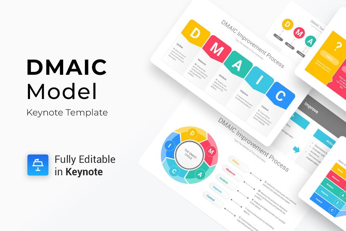 Dmaic Diagrams Keynote Presentation Template